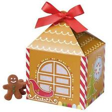 Gingerbread Christmas Treat Boxes 4 ct  from Wilton #0310 - NEW