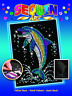 Sequin Art Dolphin craft set from the Blue range 1516