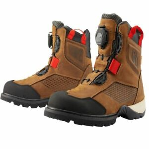 2021 Icon Stormhawk waterproof Street Motorcycle Boots - Pick Color & Size