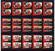 FERNANDO ALONSO 2010 FERRARI F1 WIN SET OF 3 VIGNETTE STAMPS 1