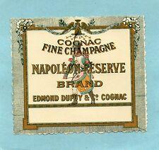 COGNAC VIEILLE ETIQUETTE COGNAC NAPOLEON RESERVE   §15/09§