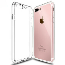 Crystal Clear Silicone Case For iPhone 7 Plus TPU Rubber Transparent Shamo's®