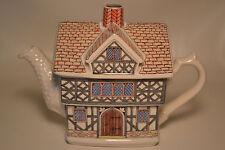 "English Country House- TEAPOT - ""Elizabethan House"" SADLER-Staffordshire England"