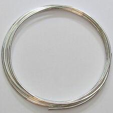 Pure Silver Wire 9999 (99.99%) 1.6mm diameter (14 Gauge) - 4 Feet