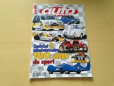 Magazine Hors serie AutoPassion Spécial100 ans de sport Renault rally formule 1