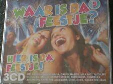 WAAR IS DA FEESTJE? HIER IS DA FEESTJE! Volume 5 (3 CD - 2012) David Guetta.....