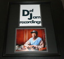 Russell Simmons Signed Framed 16x20 Photo Set AW Def Jam