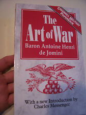THE ART OF WAR Baron Antoine H. De Jomini NAPOLEONIC PAPERBACK Ney, Greenhill NM