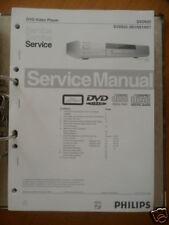 Service Manual Philips Dvd 622 Dvd Player, Original