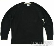 NORSE PROJECT Solid Black 100% Cotton Pullover Sweatshirt Mens - LARGE