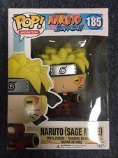 Funko Pop Naruto Shippuden Naruto (Sage Mode) #185 Mint Condition
