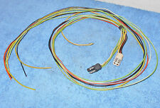 1969 Cougar Hardtop Convert TRUNK TAIL LIGHT HARNESS To UNDER DASH WIRING PLUGS
