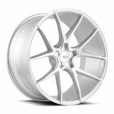 """19"""" SAVINI BM14 SILVER CONCAVE WHEELS RIMS FITS FORD MUSTANG GT GT500"""