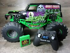 New Bright 1:10 RC 9.6V 2.4Hz Monster Jam Grave Digger Truck Crawler NOT TESTED