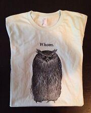 MincingMockingbird Whom Women's American Apparel T-Shirt Tri-Blend Size XL
