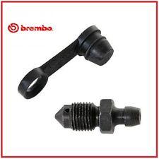 Brembo Pinza freno Entlüftungsnippel - M10x1 x 15mm Nero