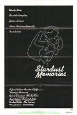 STARDUST MEMORIES MOVIE POSTER Original N. Mint Folded 27x41 WOODY ALLEN