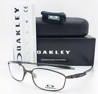 NEW Oakley Blender 6B RX Eyeglasses Frame OX3162-0155 Pewter AUTHENTIC 3162 55
