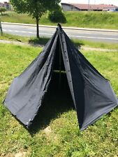 Polish Poland military polish army tent shelter 2x poncho NAVY black lavvu size1