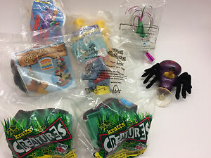 Kids Meal toys, Wendy's, Burger King, Pizza Hut, Arby's & Jack in the Box 1990's