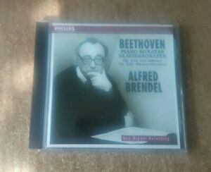 Beethoven Piano Sonatas Op 81a & 106 Alfred Brendel 1996 Philips 446 093-2 01