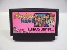 NES -- DownTown Nekketsu Monogatari -- Famicom. Japan game. Work fully. 10336
