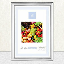 A4 Certificate Photo Picture Frame Silver NO Black ** Freepost***! New* m