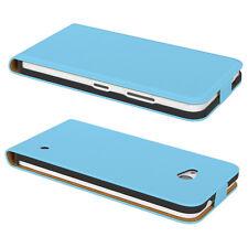 Tasche für Nokia / Microsoft Lumia 535 Flip Case Schutz hülle Cover Hellblau