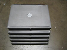 """Lot of 5 Dell Latitude D820 15.4"""" Notebook Laptop 1.66GHz 1GB DVDRW - incomplete"""
