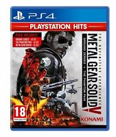 METAL GEAR SOLID V THE DEFINITIVE EXPERIENCE PS4 GAME