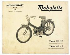 Catalogue vers 1965  MOTOCONFORT - MOBYLETTE Type AU 42 - AU 41