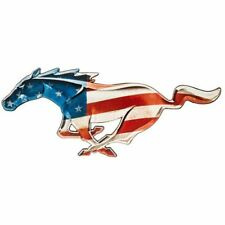 Stars & Stripes Mustang Running Horse Metal Sign * America! Free USA Shipping!