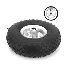 "2X 10""Inch Pneumatic Tyres Sack Truck Trolley Wheel Barrow New Tyre Garden Hand"
