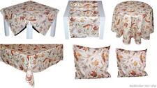 Tischdecke Pflegeleicht Blätter HERBST Tischläufer Kissen-hülle Tischtuch Decke