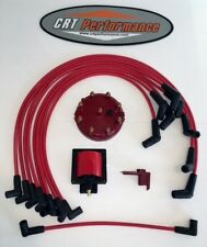 1986-1995 FORD F150 BRONCO 5.0L 302 TUNE UP 48K Volt POWERBOOST UPGRADE KIT RED