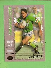 1994 MASTERS RUGBY LEAGUE CARD #12  BRADLEY  CLYDE, CANBERRA  RAIDERS