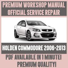 >WORKSHOP MANUAL SERVICE & REPAIR GUIDE for HOLDEN COMMODORE 2006-2013