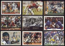 JIM FLANIGAN Chicago Bears - Notre Dame 1999 UD AUTOGRAPH / SIGNED Football Card