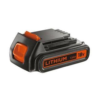 Black & Decker - Bloc batterie BL1518-XJ Li-Ion 18V 1,5 Ah