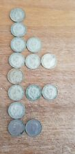 More details for 1940 - 1947 george vi silver sixpences 6d x 14 coins
