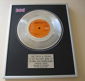 ROYAL SCOTS DRAGOON GUARDS Amazing Grace PLATINUM PRESENTATION DISC