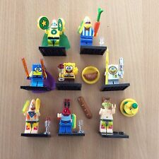 8pcs SpongeBob Square Pants Sponge Bob Mini Figures minifigures Fit with Lego UK