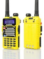 Baofeng Yellow Bf-F9 V2+ 8Watt Tri-Power 4/6/8w Usa Warranty Dual-Band Mhz Fm