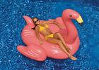 Swimline Giant Flamingo Inflatable Ride-On Float For Swimming Pool Lake 90627
