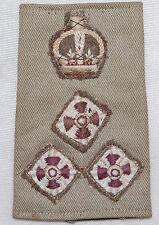 BRIGADIER Rank Badges on Epaulette - Canadian Forces