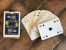 Vintage Montgomerie Reid Ltd Basingstoke Hampshire Advertising Playing Cards