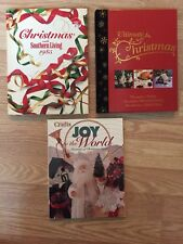 LOT of Christmas Books,  ULTIMATE, Joy to the World CRAFTS, Southern Living 1985