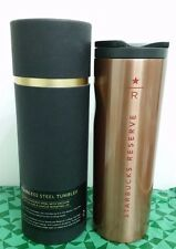 "Starbucks Coffee Taiwan Black 16oz ""R - Reserve"" Thermos Tumbler bottle mug cup"