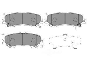 Disc Brake Pad Set-Premium Ceramic Pads Rear CFD2032 fits 17-19 Nissan Titan