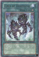 Yu-Gi-Oh Card - PTDN-EN055 - FIRES OF DOOMSDAY (rare) - NM/Mint